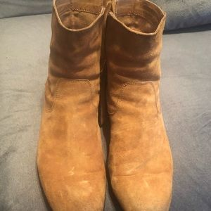 Men's sexy suede boots